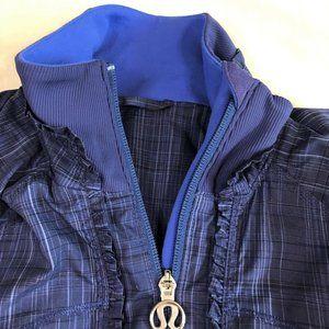 lululemon athletica Jackets & Coats - Lululemon Athletica blue fullzip jacket